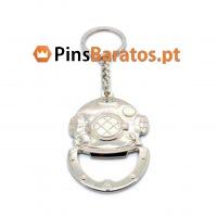 Fabricantes de porta chaves promocionais em metal