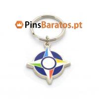 Fabricantes de porta chaves promocionais Escudo