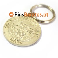 Fabricantes de porta chaves promocionais 100 Pesos