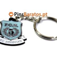 Fabricantes de porta chaves promocionais para a equipe de futebol