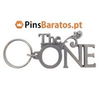 Fabricantes de porta chaves promocionais com logotipo personalizado The One