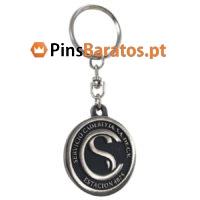 Porta chaves promocionais com logotipo Cadereyta