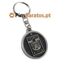 Porta chaves promocionais com logotipo Equipo Tigres