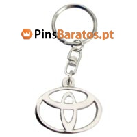 Porta chaves promocionais com logotipo Toyota