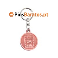 Porta chaves promocionais em bronze