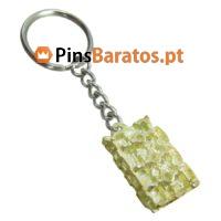 Porta chaves promocionais em ouro