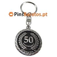 Porta chaves promocionais 50 Aniversario