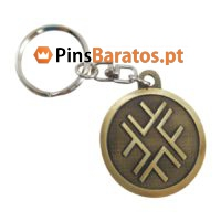 Porta chaves promocionais com ouro antigo