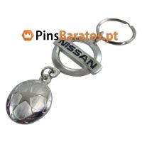 Porta chaves personalizados com logotipo Uefa Nissan