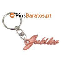 Porta chaves personalizados com logotipo Jubilee