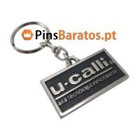 Porta chaves personalizados com logotipo U-Calli
