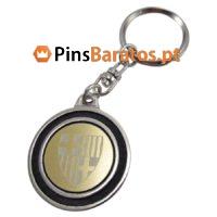 Porta chaves personalizados com escudo