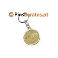 Porta chaves personalizados com escudo 75 anos