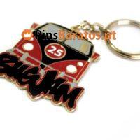 Porta chaves personalizados com logotipo Volkswagen
