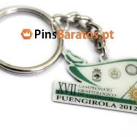 Porta chaves personalizados Pajaro