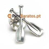 Pins 3D em prata