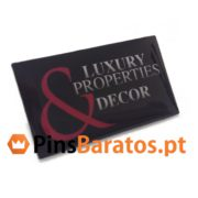 Pins impressos Luxury Properties