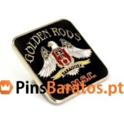 Pins promocionais Golden Rods