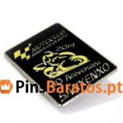 Pins promocionais Motoclub