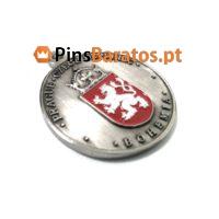 Medalhas personalizadas em prata antiga Prague