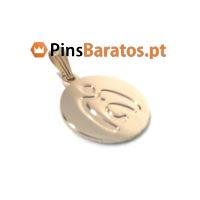 Medalha personalizada em prata e ouro