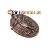 Medalha personalizada Roma