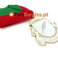 Medalhas personalizadas com cinta para o cuello