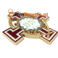 Medalhas personalizadas com logotipo JHS