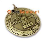 Medalhas personalizadas Saint Lisboa
