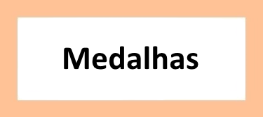 Medalhas personalizadas.