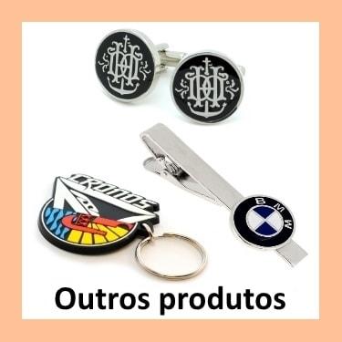 Outros produtos personalizados.