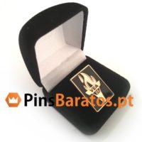 Caixinha de veludo para pins personalizados